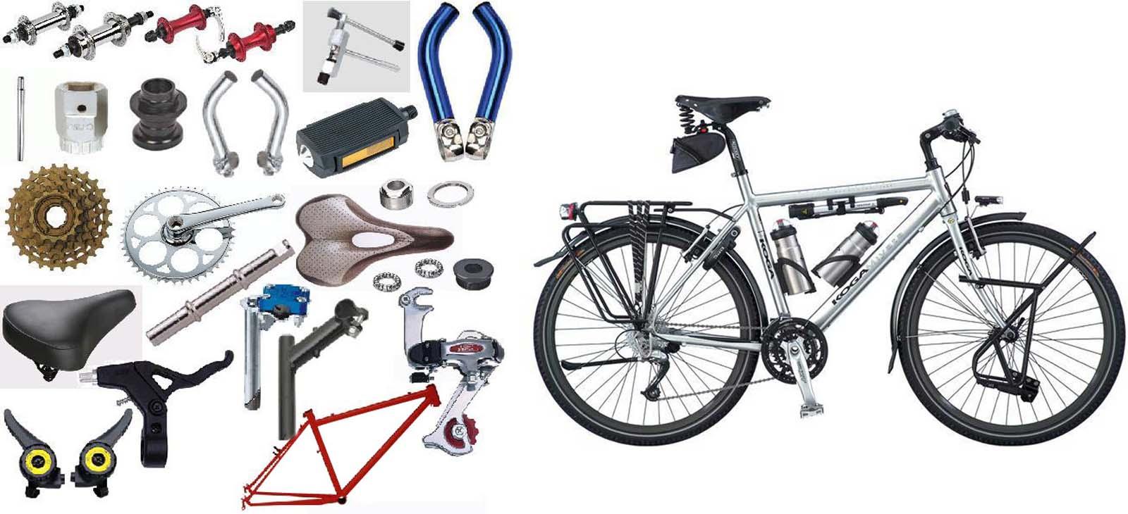 اجزا دوچرخه