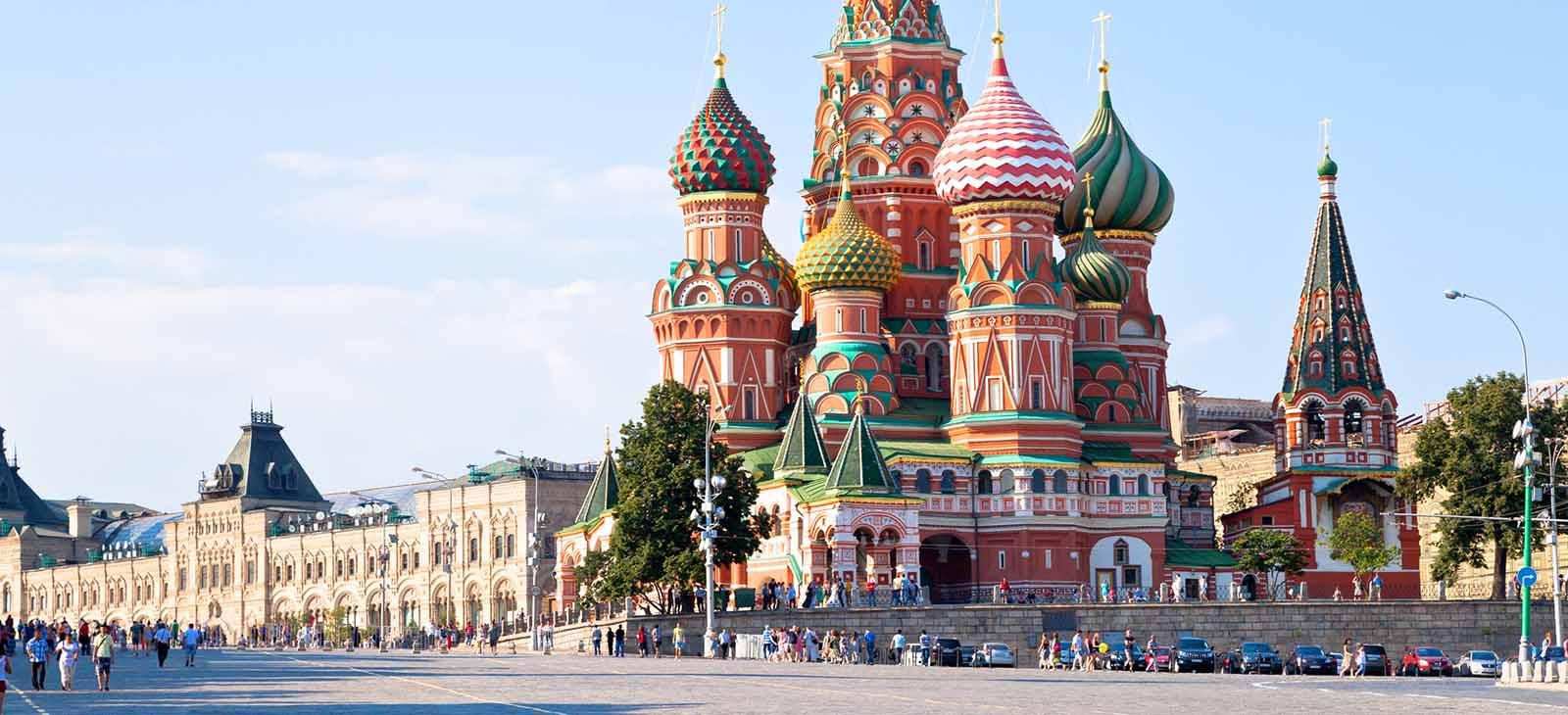 کلیسای سنت باسیل مسکو