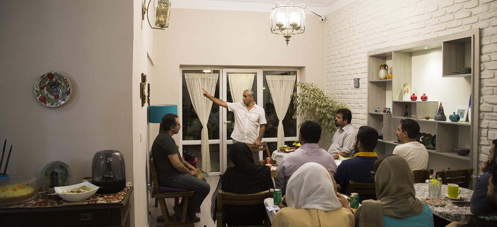 آرش نورآقایی در خانه فرهنگی آنسو